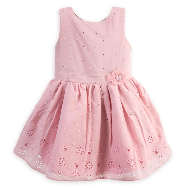 Minnie Mouse Eyelet Dress for Girls