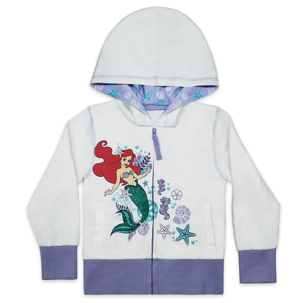 Ariel Zip Hoodie for Girls – The Little Mermaid