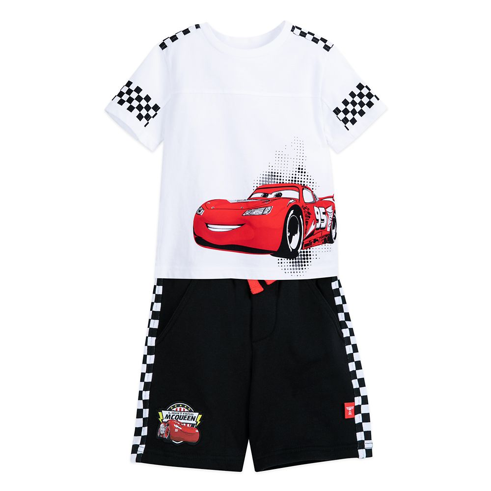 Lightning McQueen T-Shirt and Shorts Set for Boys – Cars