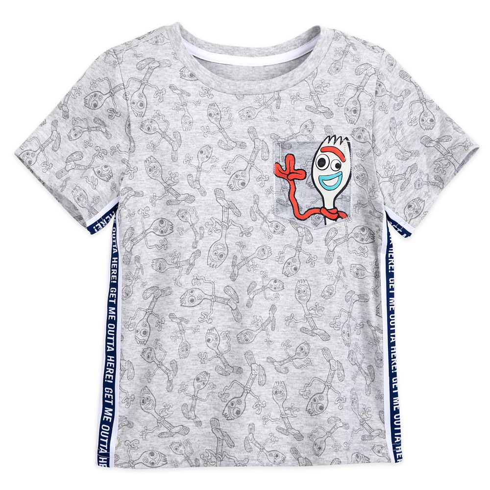 Forky T-Shirt and Shorts Set for Boys – Toy Story 4