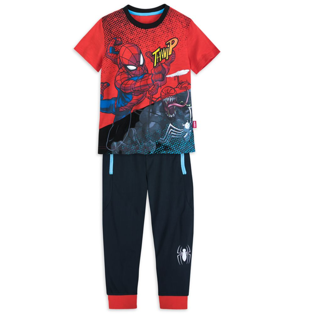 Spider-Man T-Shirt and Jogger Set for Boys