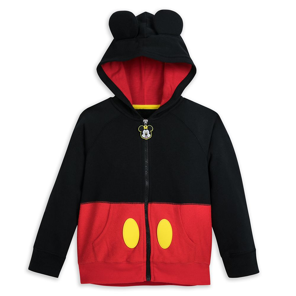 Mickey Mouse Costume Hoodie for Boys