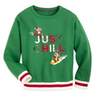 Chip 'n Dale Holiday Pullover Sweatshirt for Kids