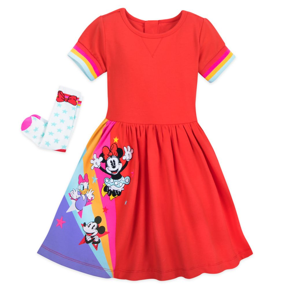 Mickey Mouse and Friends Dress Set for Toddlers