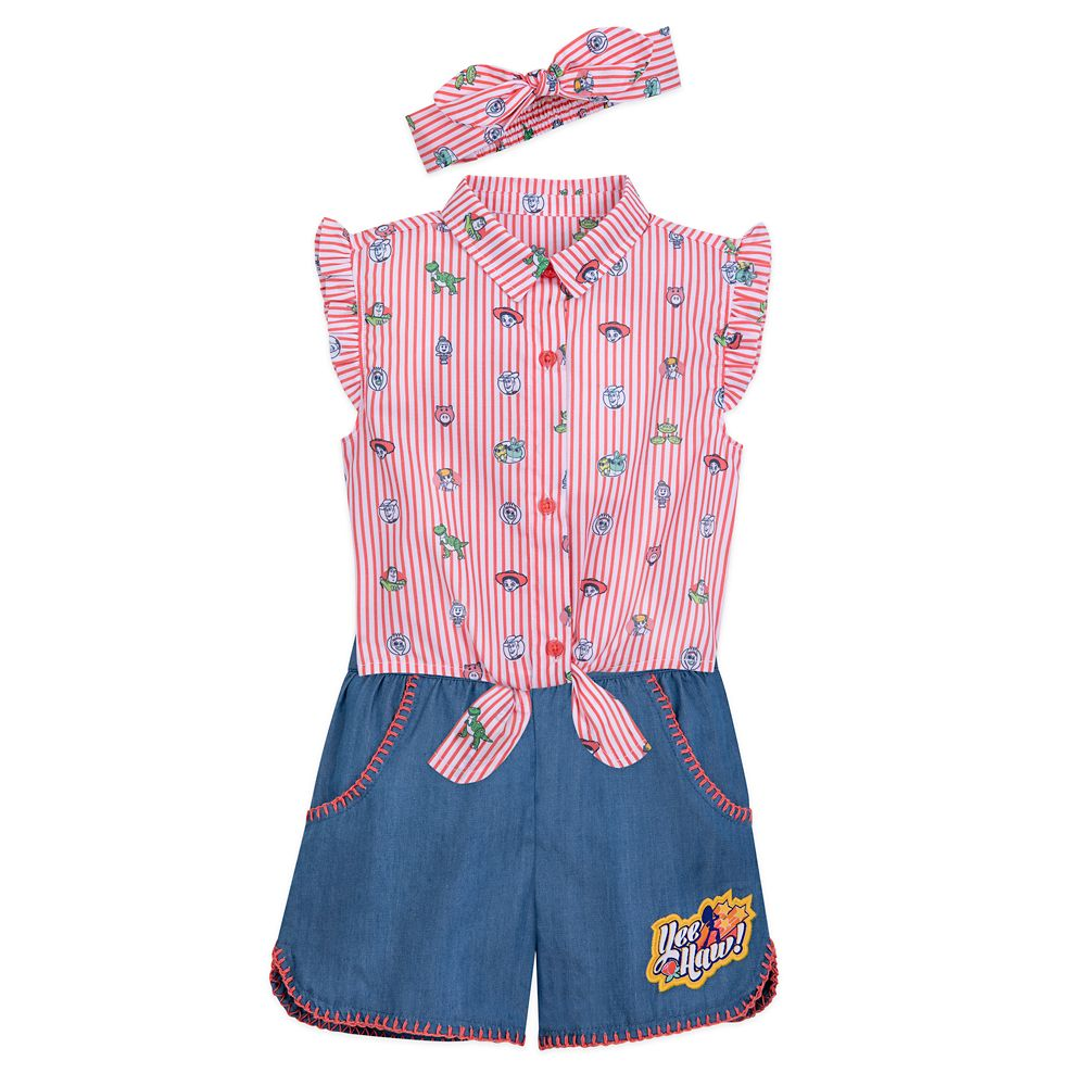 Toy Story 4 Shirt and Shorts Set for Girls
