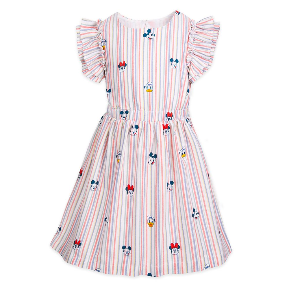 Mickey Mouse and Friends Summer Fun Woven Dress for Girls