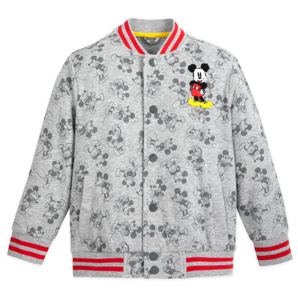 Mickey Mouse Bomber Jacket for Kids