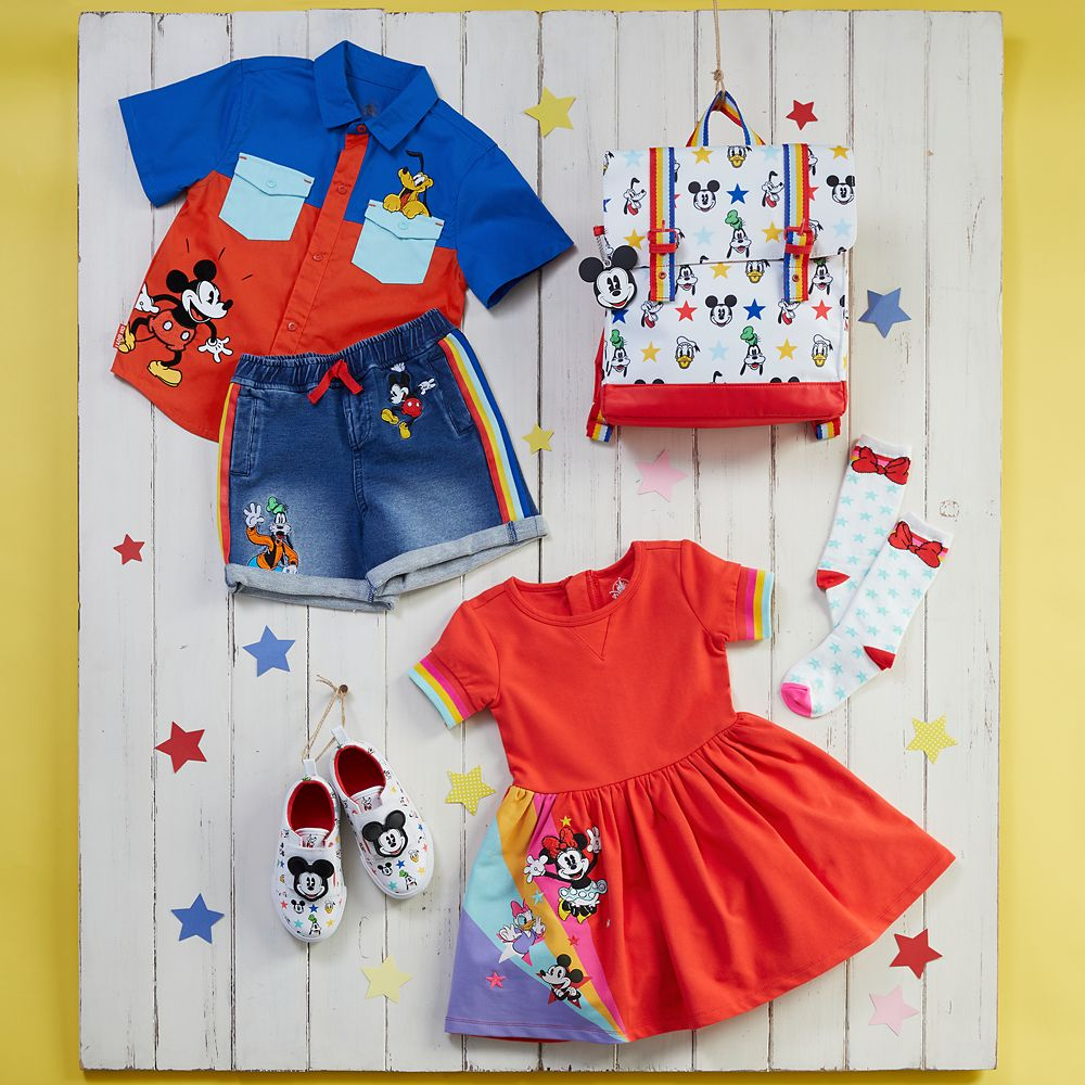 Mickey Mouse and Pluto Woven Shirt for Toddlers