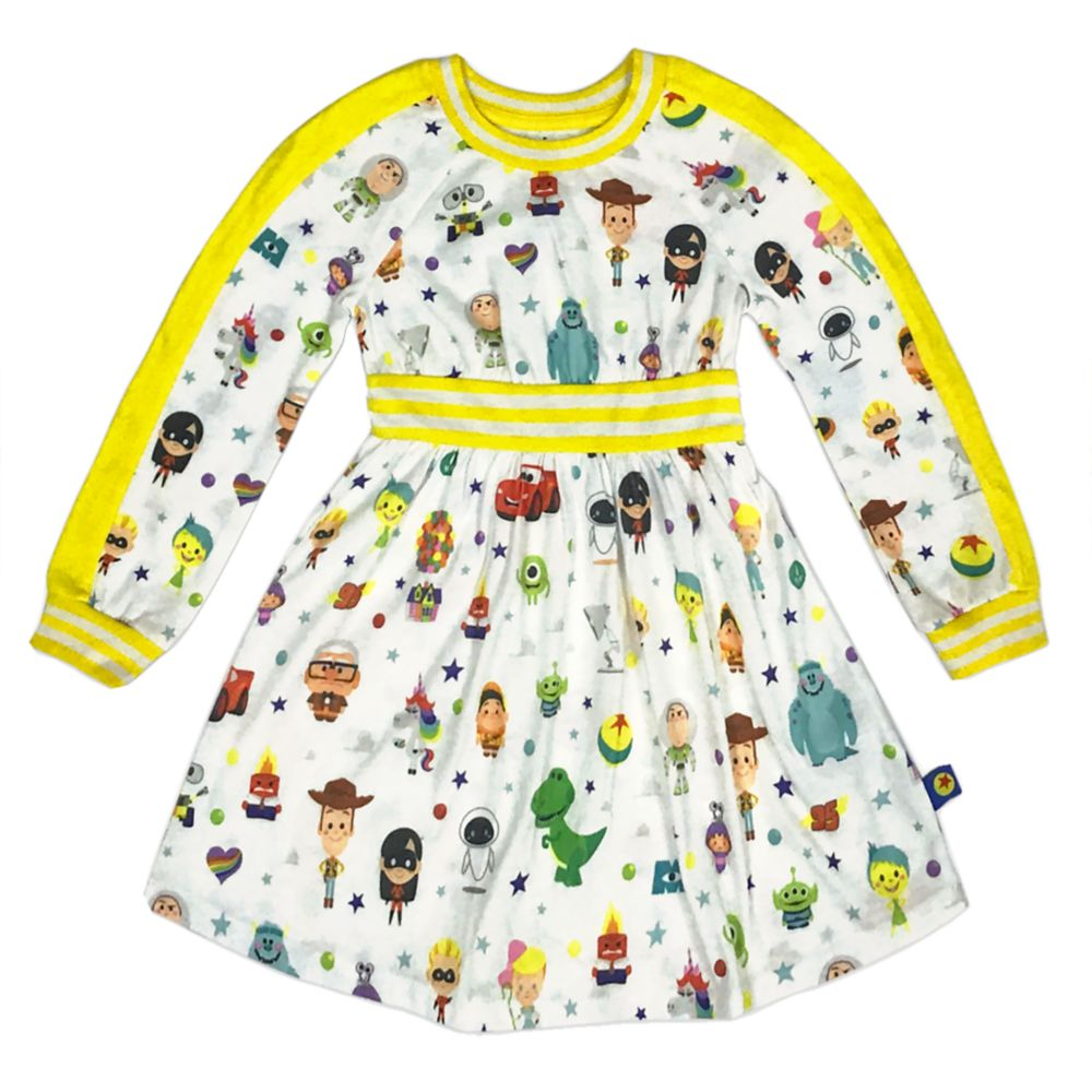 World of Pixar Dress for Toddlers