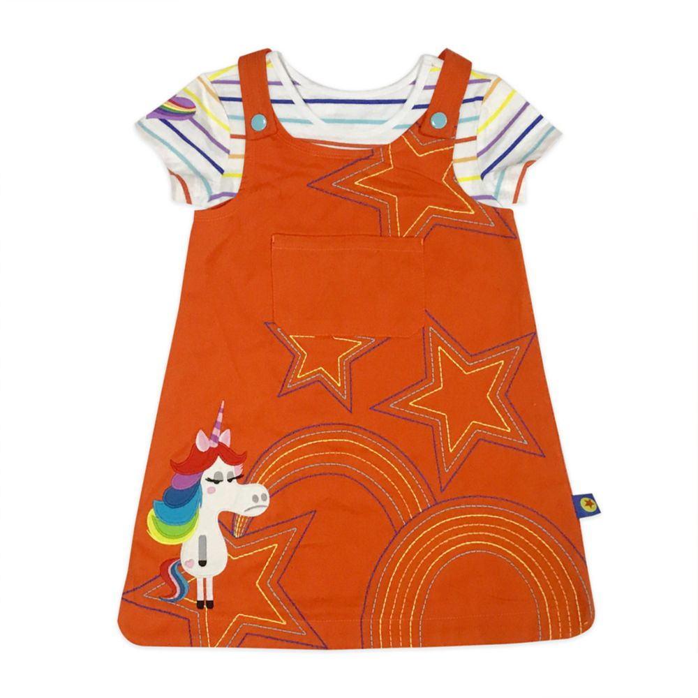 World of Pixar Romper Dress and T-Shirt Set for Toddlers