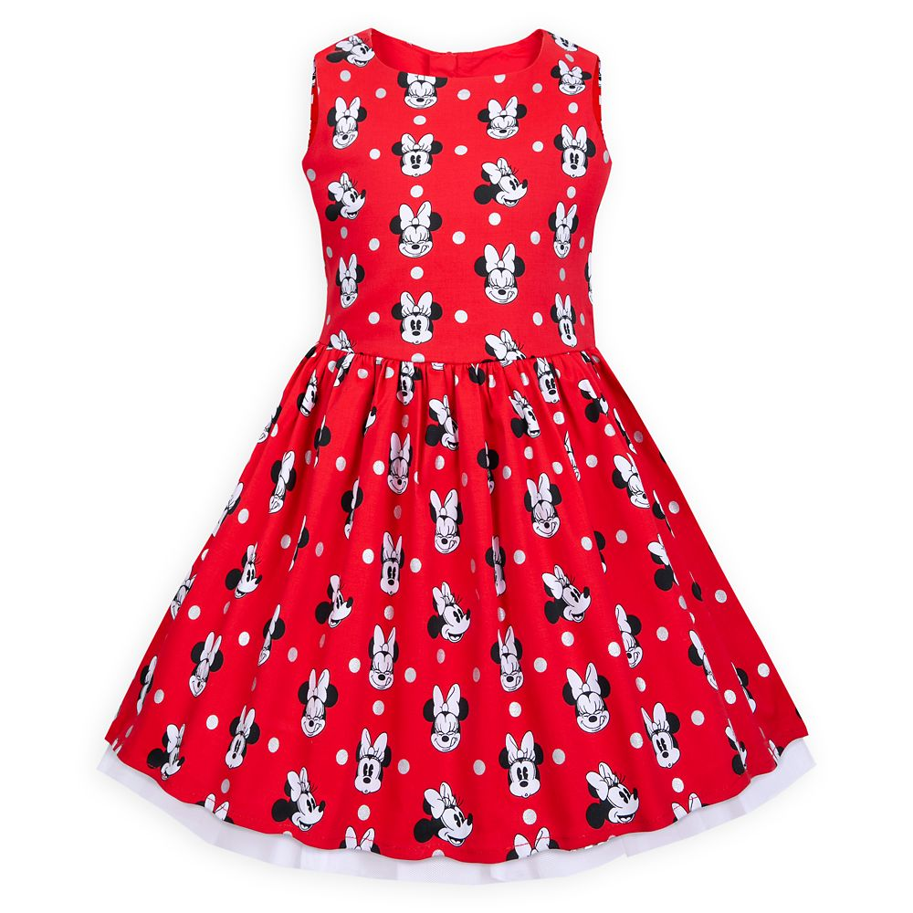 Disney Minnie Mouse Sleeveless Dress for Girls