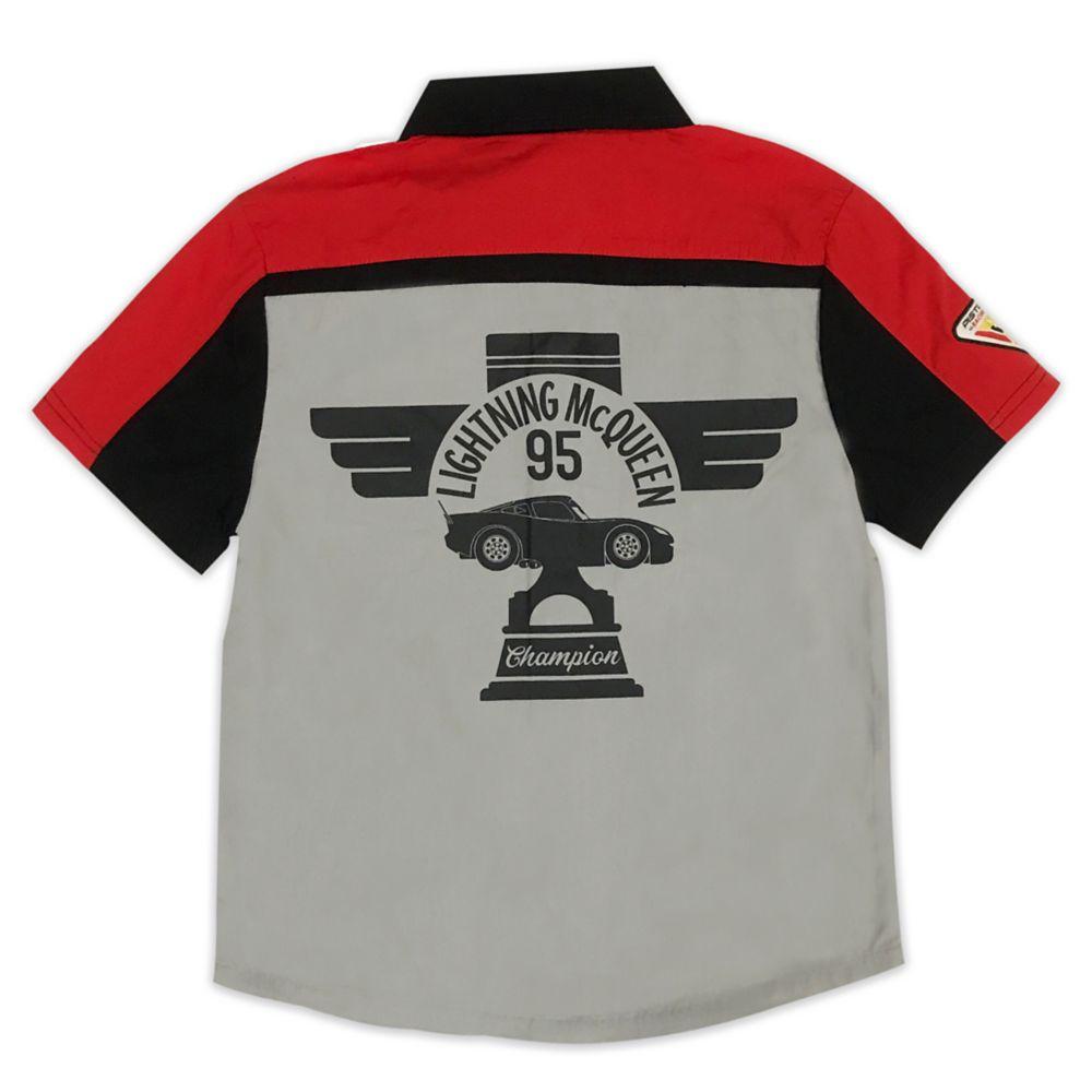 Lightning McQueen Woven Shirt for Boys