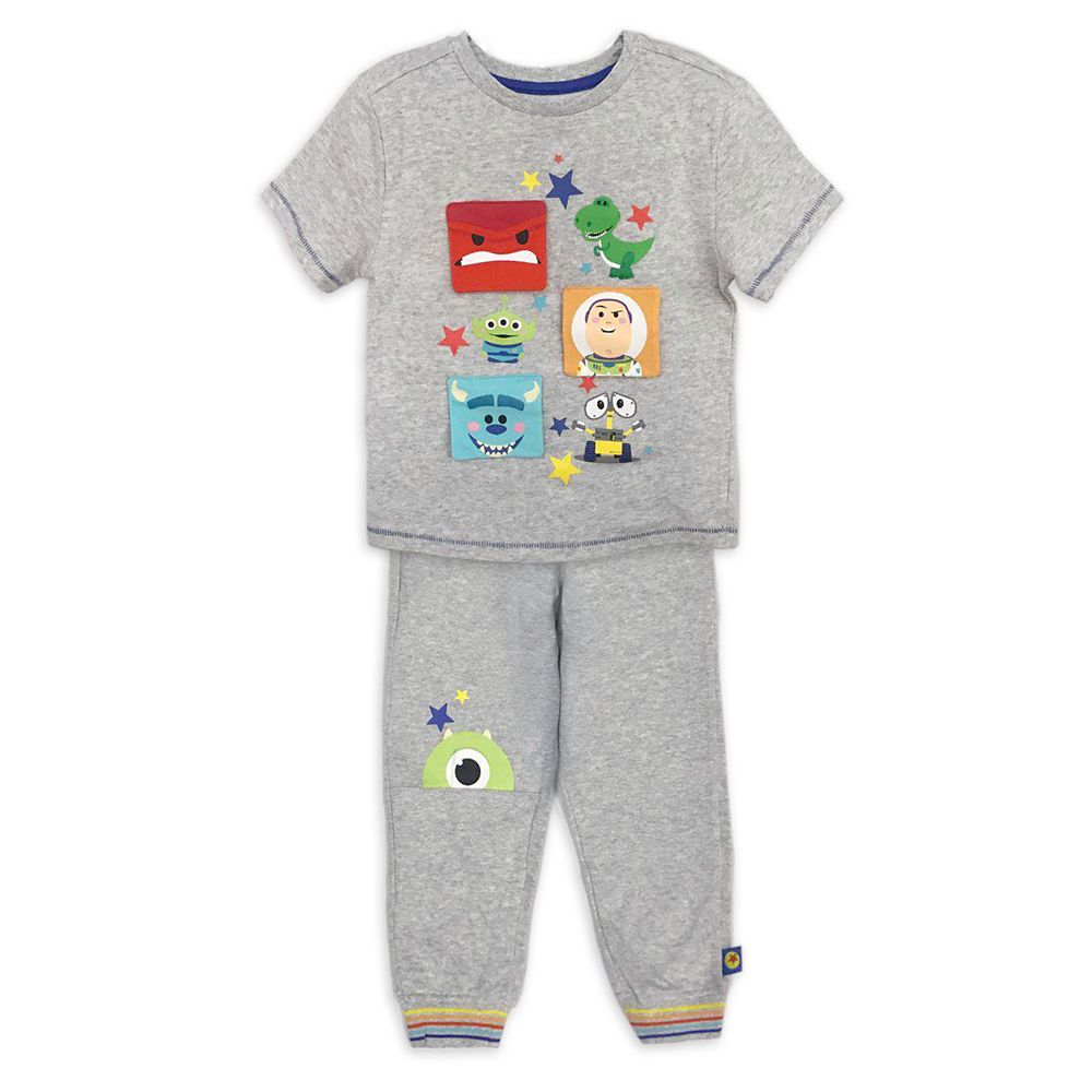 World of Pixar T-Shirt and Jogger Set for Toddlers