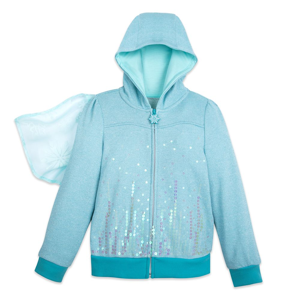 Elsa Costume Hoodie for Girls – Frozen 2