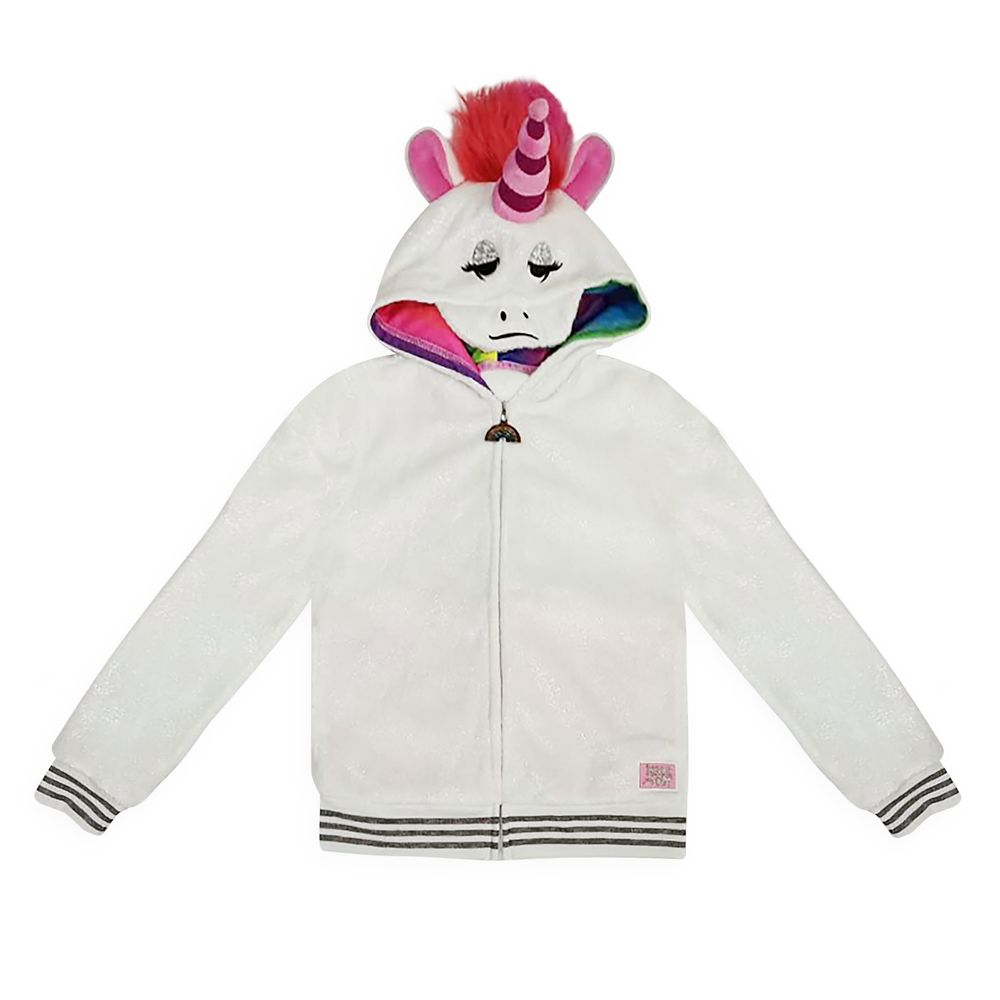Rainbow Unicorn Costume Hoodie for Girls – Inside Out