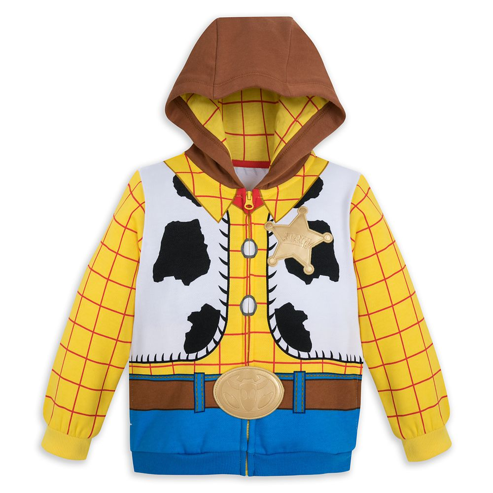 Sheriff Woody Costume Hoodie for Kids