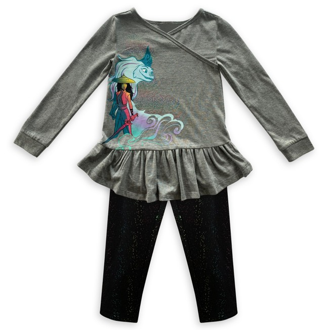 Raya and the Last Dragon Top and Leggings Set for Girls