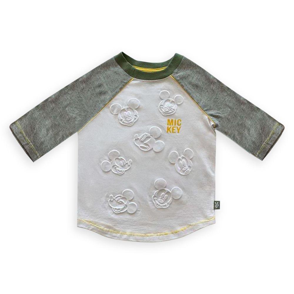 Mickey Mouse Raglan Shirt and Sweatpants Set for Boys