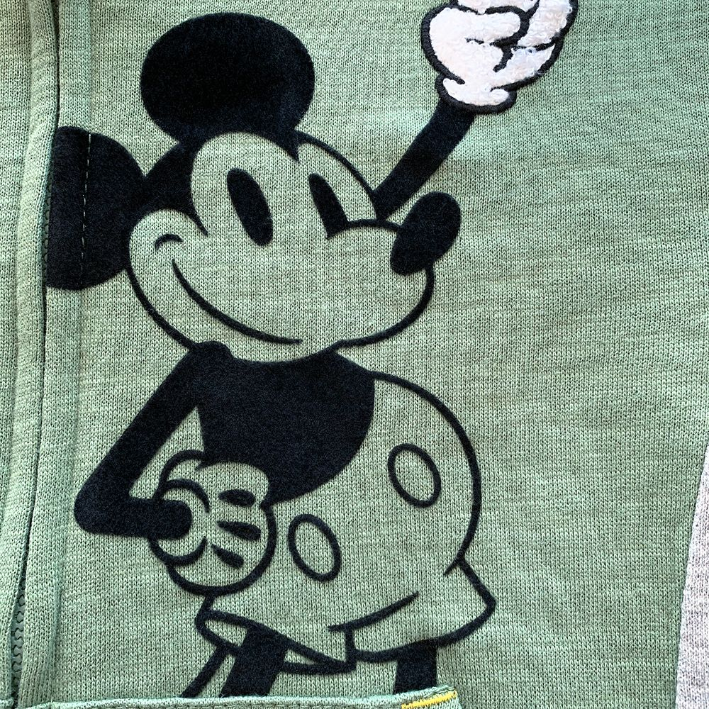 Mickey Mouse Hooded Zip Jacket for Boys