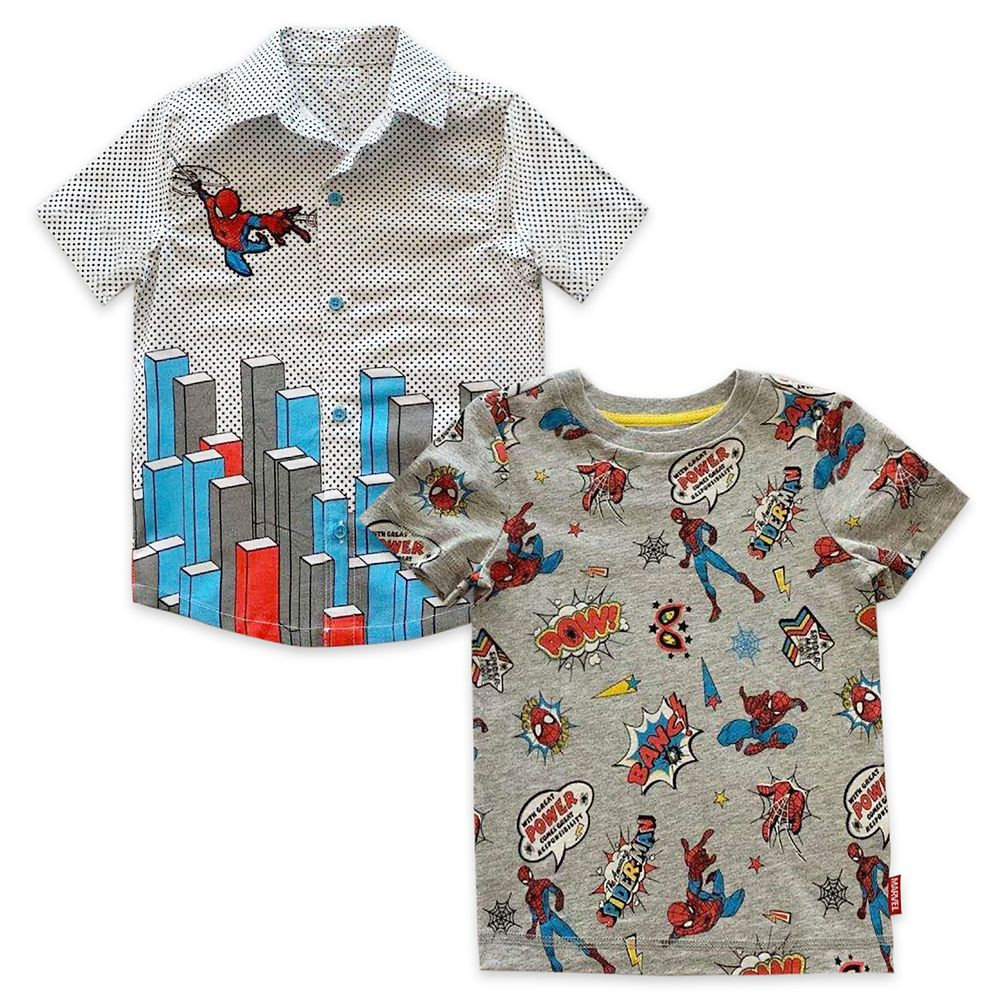 Spider-Man Shirt Set for Boys