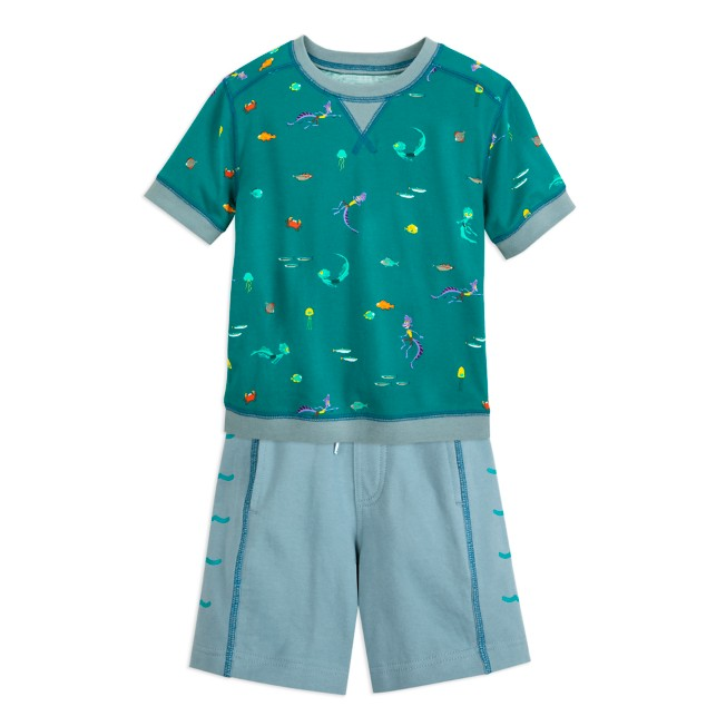 Luca T-Shirt and Shorts Set for Kids