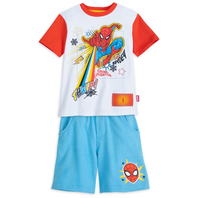 Spider-Man T-Shirt and Shorts Set for Boys