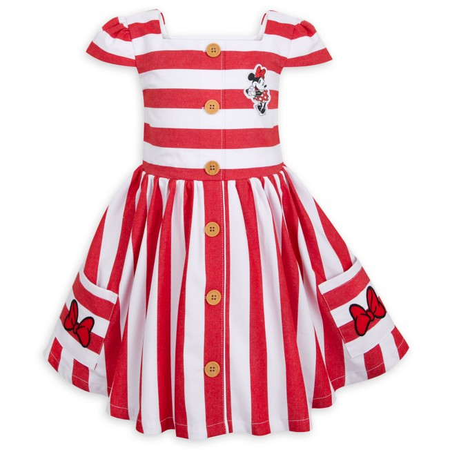 Minnie Mouse Striped Dress for Girls