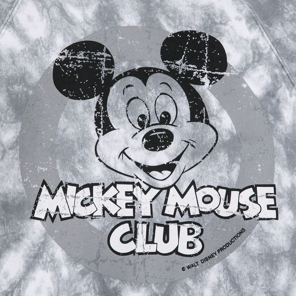 Mickey Mouse Tie-Dye Pullover Hoodie for Boys