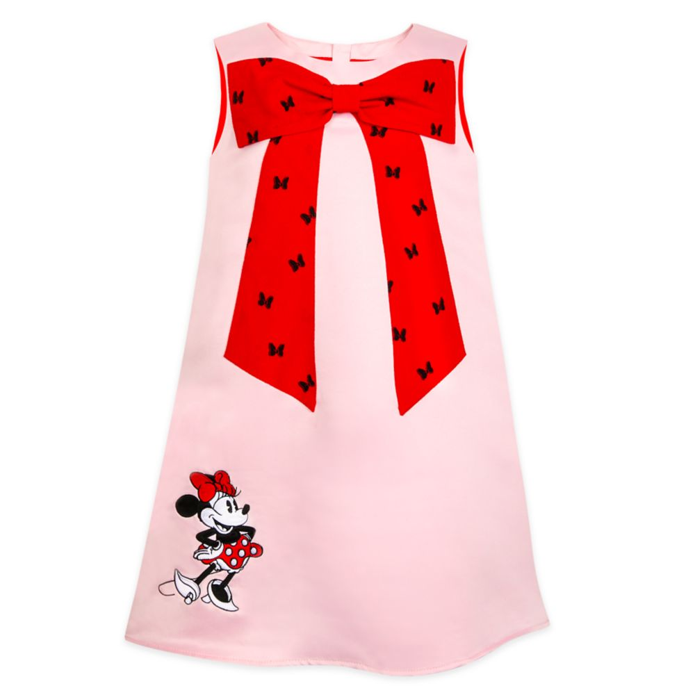 Minnie Mouse Satin Shift Dress for Girls