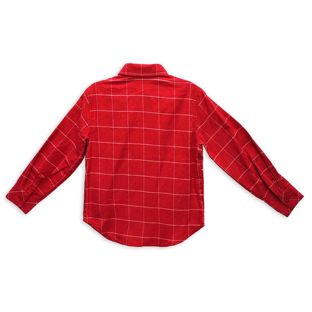 Mickey Mouse Holiday Woven Shirt for Kids