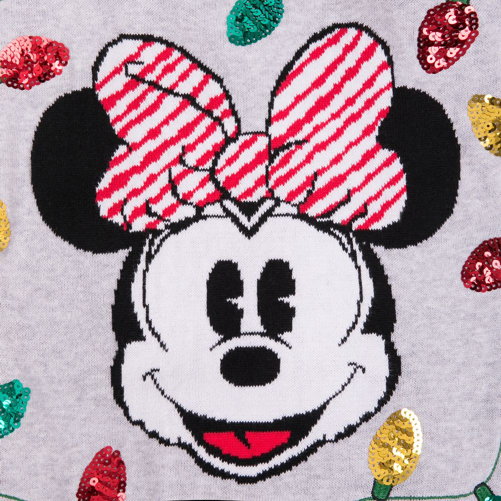 Minnie Mouse Holiday Sweater for Girls