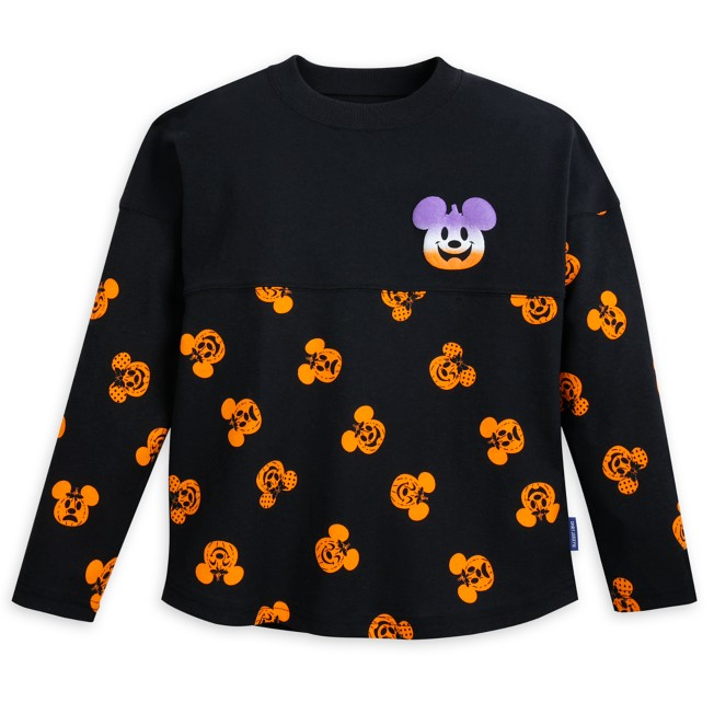 Mickey and Minnie Mouse Pumpkin Spirit Jersey for Kids – ''Happy Halloween''