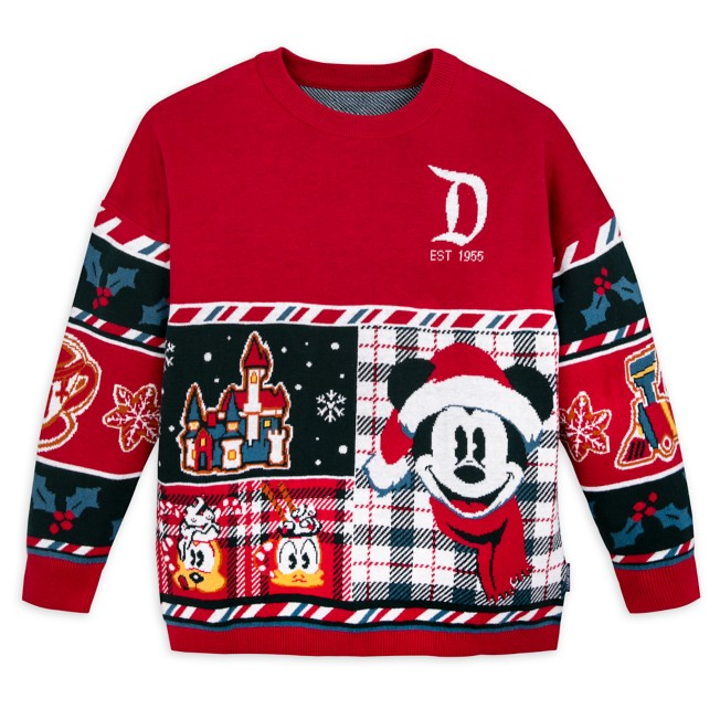 Mickey Mouse and Friends Holiday Sweater by Spirit Jersey for Kids – Disneyland