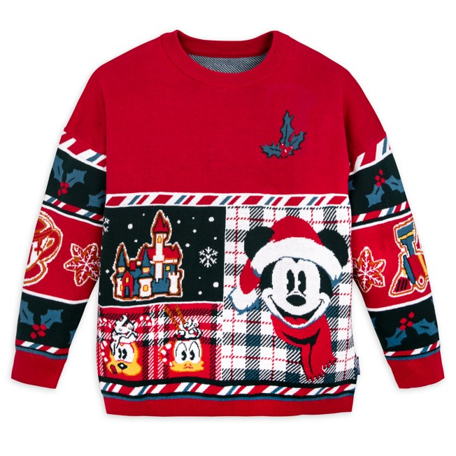 Mickey Mouse and Friends ''Merry Christmas'' Sweater by Spirit Jersey for Kids