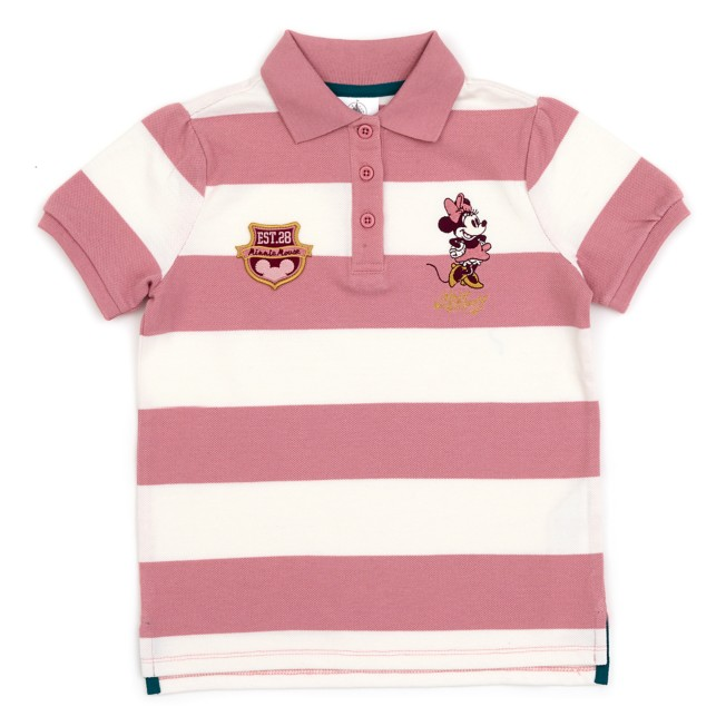 Minnie Mouse Striped Polo Shirt for Kids