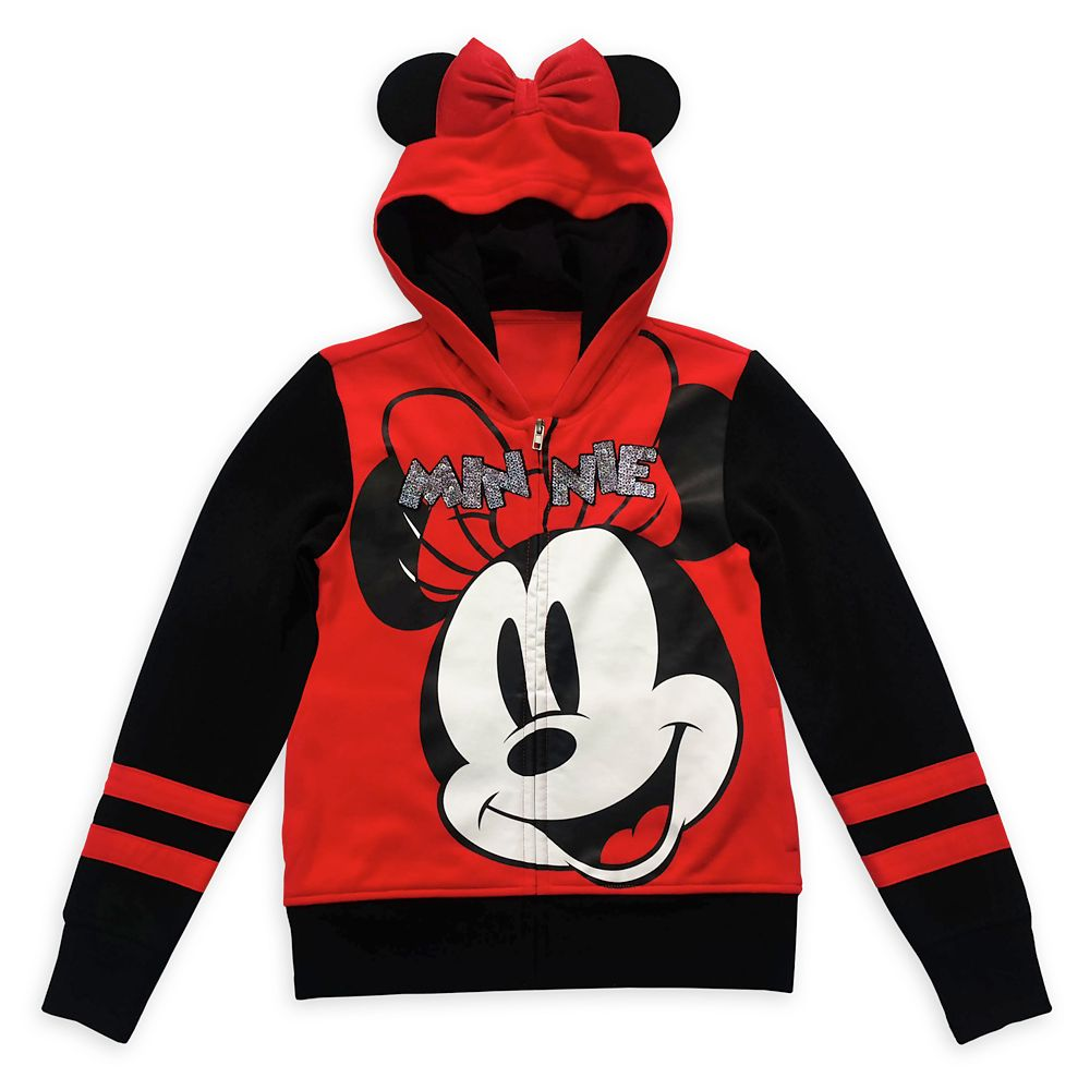 Minnie Mouse Zip-Up Hoodie for Girls
