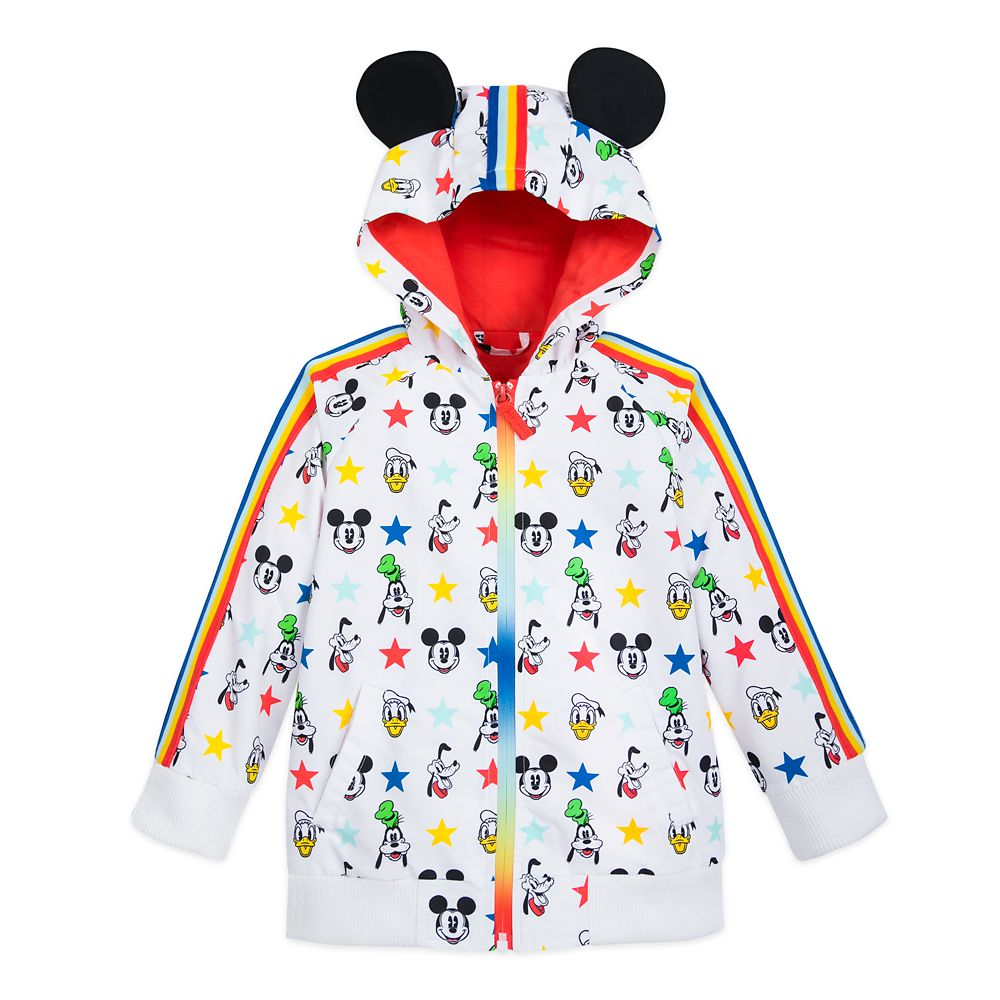 Mickey Mouse and Friends Rain Jacket for Toddlers