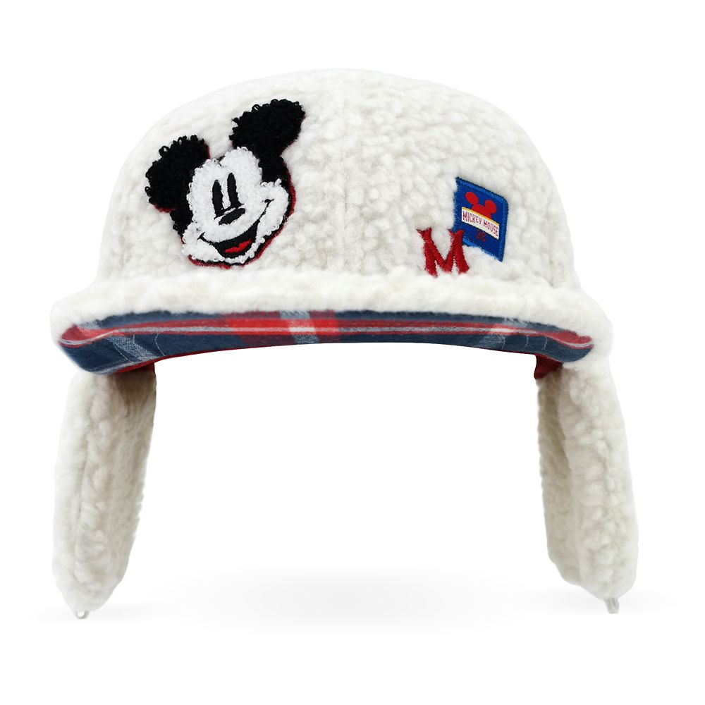 Mickey Mouse Earflap Baseball Cap for Kids