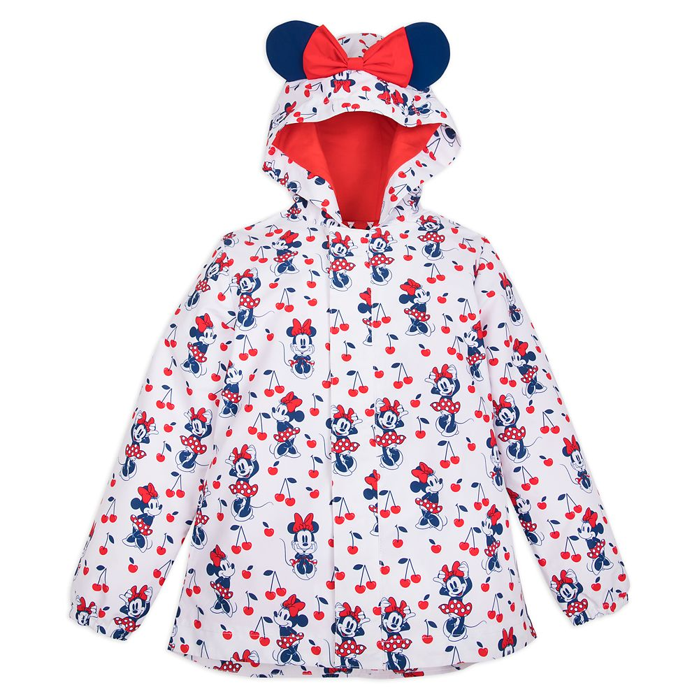Minnie Mouse Red Packable Rain Jacket for Kids