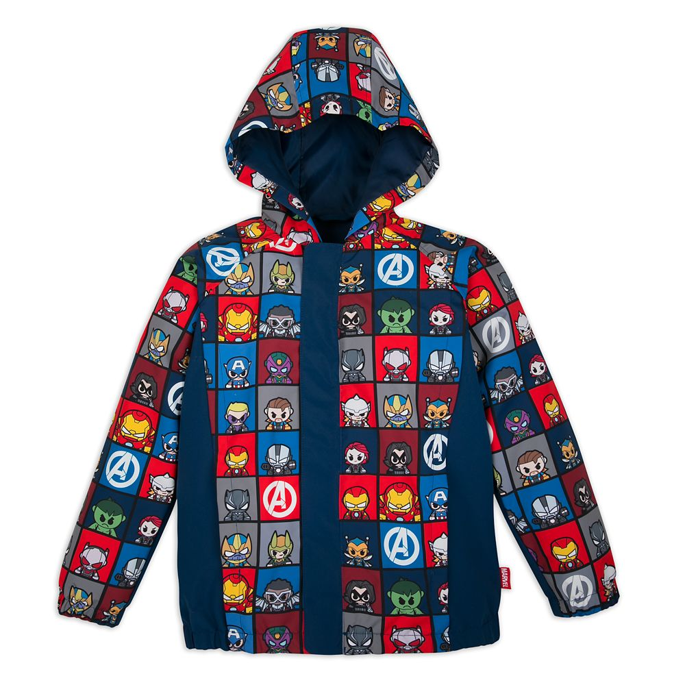 Marvel Avengers Packable Rain Jacket for Kids
