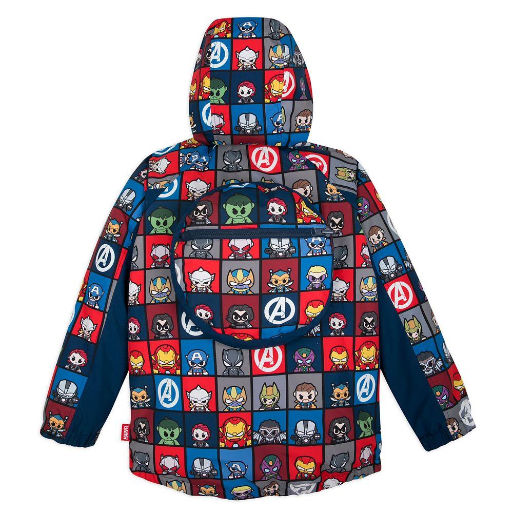 Marvel Avengers Packable Rain Jacket for Kids