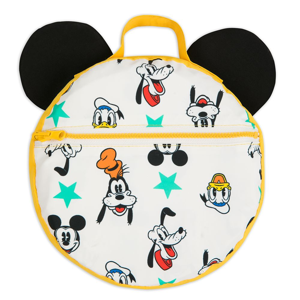 Mickey Mouse and Friends Packable Rain Jacket for Kids