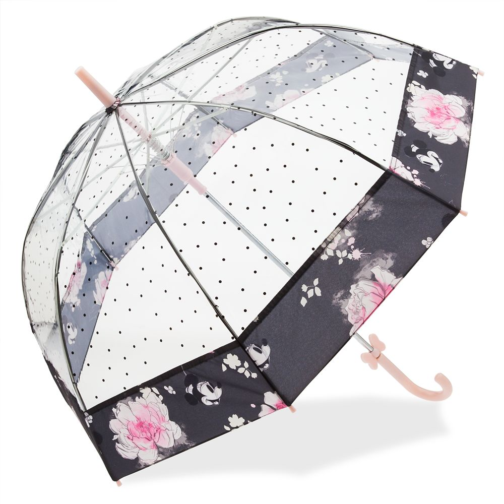 Minnie Mouse Floral Umbrella for Adults