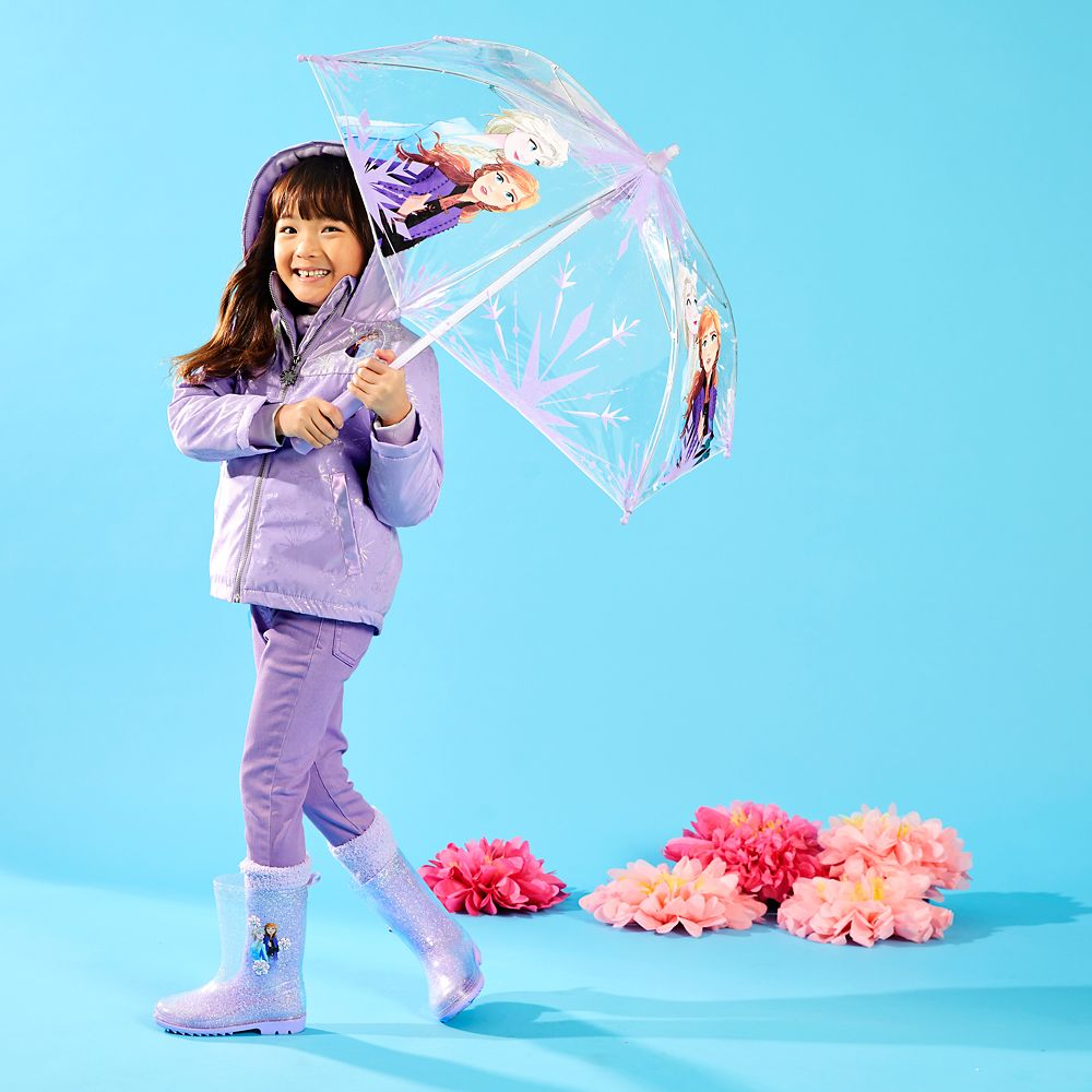 Elsa and Anna Light-Up Umbrella for Kids – Frozen 2