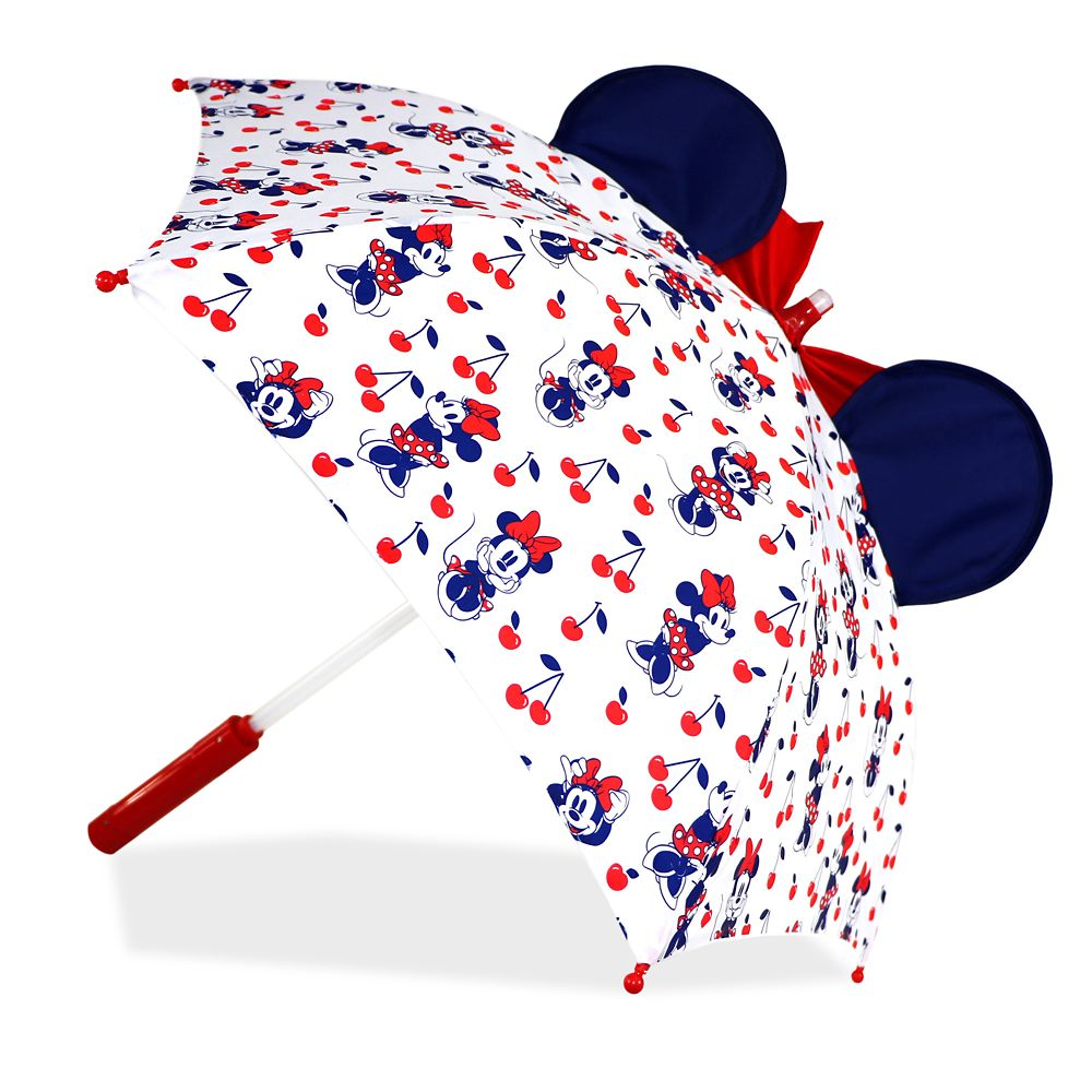 Minnie Mouse Red Light-Up Umbrella for Kids