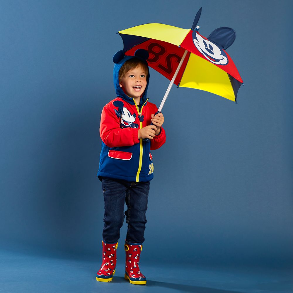 Mickey Mouse Light-Up Umbrella for Kids