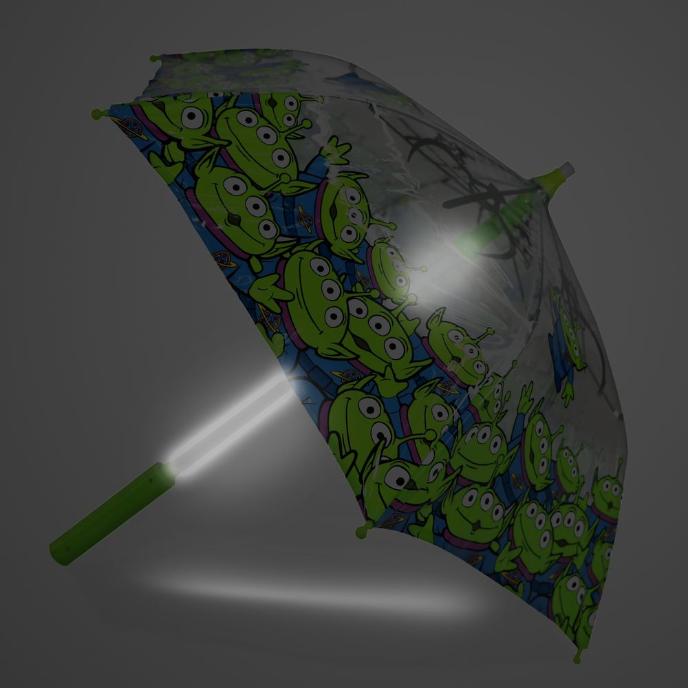 Toy Story Aliens Light-Up Umbrella for Kids