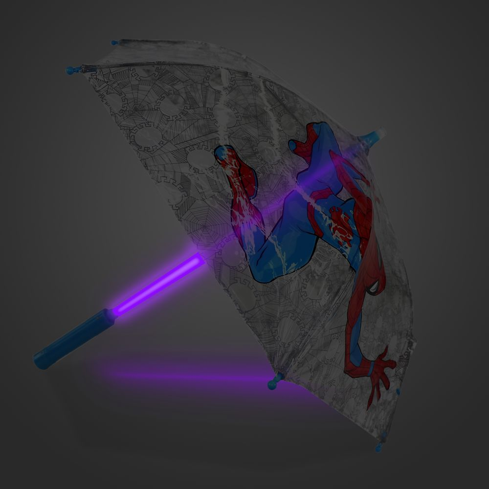 Spider-Man Light-Up Umbrella for Kids