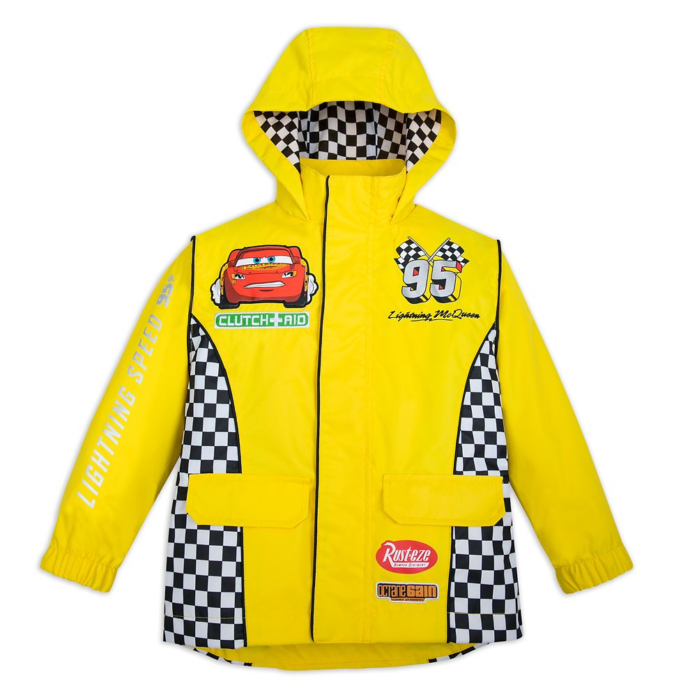 Lightning McQueen Rain Jacket for Kids – Cars