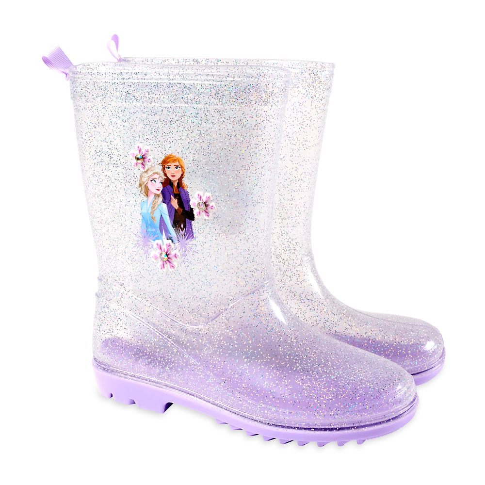 Elsa and Anna Rain Boots for Kids
